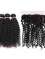 One Pack Solution Cheveux Brésiliens Très Frisé 12 mois 4 Pièces tissages de cheveux