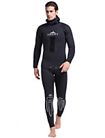 SBART® Men's 5mm Wetsuits Thermal / Warm Comfortable Neoprene Diving Suit Long Sleeve Diving Suits-Diving Spring Summer Fall/Autumn Winter
