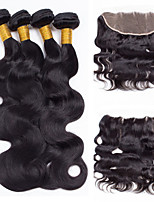 One Pack Solution Malaysian Texture Body Wave 12 Months 5 Pieces hair weaves