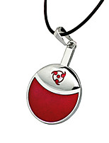 Cosplay Accessories Inspired by Naruto Cosplay Anime Cosplay Accessories Necklace Red Alloy