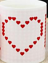 Colori Novidades Exterior Ir Artigos para Bebida, 400 ml Dom namorado presente namorada Calor mudando de cor-Sensitive Cerâmica Leite Café