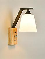 AC 220-240 5 E26/E27 מודרני/עכשווי גס Retro צביעה מאפיין for LED סגנון קטן נורה כלולה,תאורת סביבה קיר אורות LED אור קיר