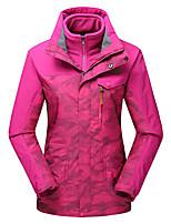 LEIBINDI®Women's Winter Jacket 3-in-1 Jackets Skiing Outdoor Sport Hiking Snowsports Waterproof Windproof Thermal / Warm Windproof