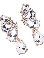Серьги-слезки Бижутерия Мода Винтаж Euramerican Драгоценный камень Бижутерия Белый Радужный Бижутерия ДляСвадьба Для вечеринок Особые