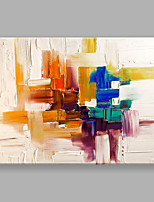 IARTS Hand Painted Modern Abstract Tonal Color Pieces Oil Painting for Home Decor