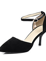 Women's Shoes Sandals Spring Summer Fall Comfort Leatherette Office & Career Dress Casual Stiletto Heel Imitation Pearl