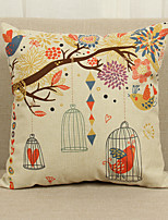1 Pcs birdcage 45cm*45cm Soft Decorative Pillow Cover