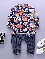 Boys' Formal Solid Sets,Acrylic Spring Fall Long Sleeve Clothing Set