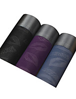 3Pcs/Lot Men's Fashion Sexy Lip Love Printed Boxers Underwear Cotton Soft Panties