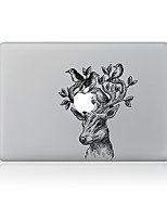 1 pièce Anti-Rayures Animal En Plastique Transparent Décalcomanie Motif PourMacBook Pro 15'' with Retina MacBook Pro 15 '' MacBook Pro