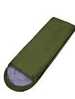 Schlafsack Rechteckiger Schlafsack Einzelbett(150 x 200 cm) 10-20 Hohlbaumwolle 210X75 Camping warm halten