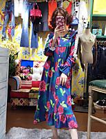 Damen Babydoll & slips Nachtwäsche Druck-Baumwolle Mittelmäßig Damen