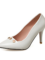 Heels Spring Summer Fall Club Shoes PU Wedding Office & Career Dress Stiletto Heel Rivet