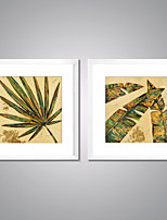 Framed Canvas Prints Abstract Leaves Painting  Picture Print on Canvas Contemporary Wall Art for Room Decoration
