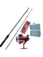 Fonoun Iso Fishing Rod FRP 165cm Ultra Light  with Reel Hook Float   FT69