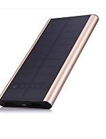 6000mAhmAhPower Bank Внешняя батарея Зарядка от солнца Несколько разъемов 6000mAh 1000mA / 2100mA Зарядка от солнца Несколько разъемов