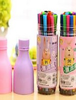 24 Color Bottled Watercolor Pen Random Color