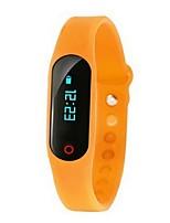 yyxh pulseira inteligente / relógio inteligente / bluetooth rastreador monitor de freqüência cardíaca pulseira pulseira de fitness