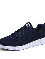 Men's Sneakers Spring Summer Fall Winter Mary Jane Comfort Suede Outdoor Athletic Casual Flat Heel Lace-up Running