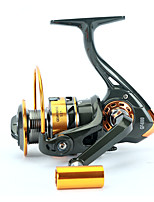 Fishing Reel Spinning Reels 5.2:1 12 Ball Bearings Right-handed General Fishing-GF4000