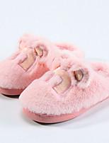 Светло-серый Розовый Верблюжий-Девочки-Повседневный-Полиуретан-На плоской подошве-Обувь для девочек-На плокой подошве