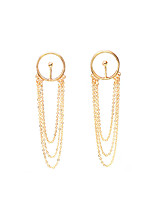 Non Stone Others Dangle Earrings Earrings/Bracelet Jewelry Pendant Tassels Euramerican Party Daily Casual Alloy 1 pair Gold Silver