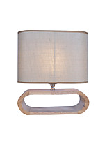 Fabric Table Lamp E27/E26 1  Light For Bedroom