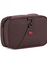 Toiletry Bag Foldable Portable for Travel Storage ToiletriesCoffee Blushing Pink