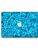 1 pièce Anti-Rayures Géométrique En Plastique Transparent Décalcomanie Glow in the Dark Motif PourMacBook Pro 15'' with Retina MacBook