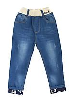 Pantalons Garçon Décontracté / Quotidien Couleur Pleine Eté