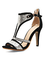 Women's Boots Summer Fall Club Shoes Synthetic Office & Career Party & Evening Dress Stiletto Heel Sequin