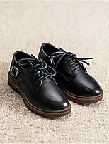Черный Верблюжий-Мальчики-Повседневный-КожаУдобная обувь-Мокасины и Свитер