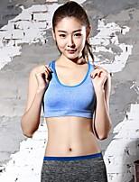 Protection Côtes & Poitrine pour Yoga Course Femme Respirable Compression Extensible Professionnel Des sports Viscose Fibre chimique