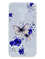 For Asus ZenFone 3 (ZE552KL)(5.5) ZE520KL(5.2) Butterfly Pattern Soft TPU Material Phone Case