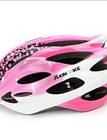 Sportif Femme Vélo Casque 24 Aération Cyclisme Cyclisme Taille Unique Polycarbonate Rose dragée