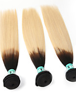 8A Grade Indian Ombre Hair 3 Bundles/Lot 1B/613 Total 300 Grams Straight Hair