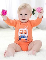 Baby Casual/Daily Sports Holiday Print One-PiecesCotton Summer Spring Fall Long Sleeve Baby Bodysuit