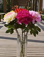 1 Une succursale Plastique Pivoines Fleur de Table Fleurs artificielles 20*20*70