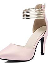 Damen-High Heels-Hochzeit Kleid Party & Festivität-Lackleder maßgeschneiderte Werkstoffe-Stöckelabsatz-Neuheit D'Orsay und Zweiteiler
