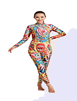 HISEA® Women's Wetsuits Thermal / Warm Neoprene Diving Suit Long Sleeve Diving Suits-Swimming Diving Surfing SailingSpring Summer