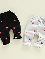 Unisex Casual/Daily Solid Pants Spring Fall