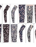 Návleky na ruce Kolo Prodyšné Rychleschnoucí Odolný vůči UV záření Proti sluci Ochranný Pohodlné Unisex Lněná Nylon elastan