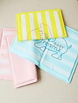 Dog Car Seat Cover Pet Mats & Pads Waterproof Foldable Blushing Stripe Pink Blue Yellow