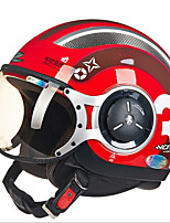 Zhus casque moto momo modélisation pédale demi-casque rétro halley casque volant 218c