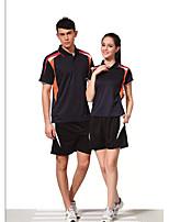 Conjuntos de Roupas/Ternos(Branco Vermelho Preto) -Homens-Respirável Confortável-Badminton