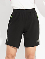 Mulheres Corrida Shorts Respirável Secagem Rápida Tecido Ultra Leve Verão Esportes Relaxantes Corrida PoliésterInterior Roupas para Lazer