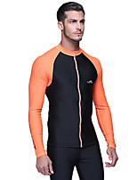 SBART® Men's Wetsuits Dive Skins Waterproof Ultraviolet Resistant High Breathability (>15,001g) Sunscreen Neoprene Diving Suit Long Sleeve