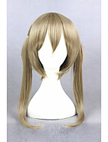 courte soul eater maka albarn synthétique blonde perruque 18 pouces cosplay anime cs-270b