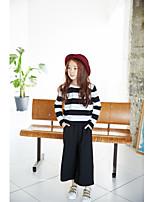 Women's Beach Cute T-shirt,Striped V Neck Short Sleeve Cotton
