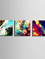 E-HOME® Stretched Canvas Art Psychedelic Clouds Series Decoration Painting MINI SIZE One Pcs